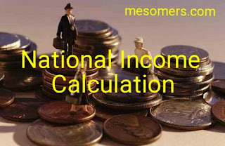 National Income calculation Methods