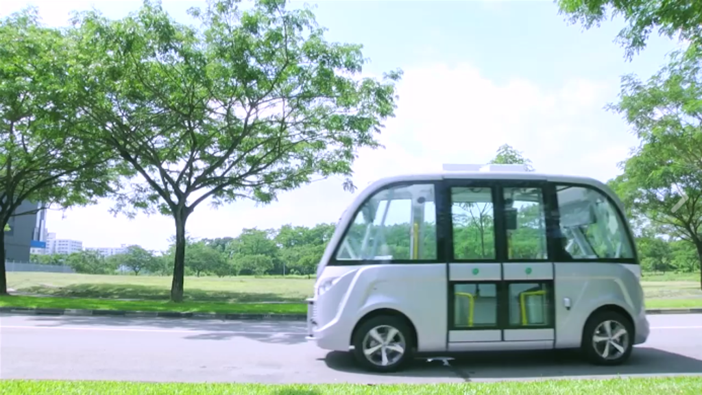 Visitors will be able to see the shuttles plying a 1km stretch of Tanjong Beach, as part of testing that began yesterday.