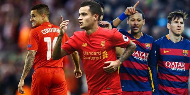 Coutinho poderia jogar no Barcelona em 2017