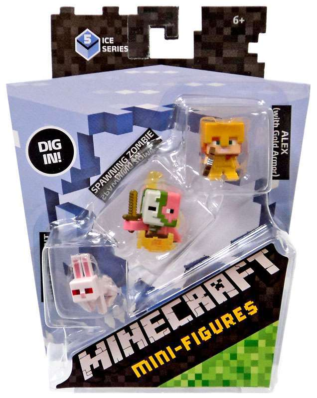 Minecraft Series 5 Mini Figures Minecraft Merch