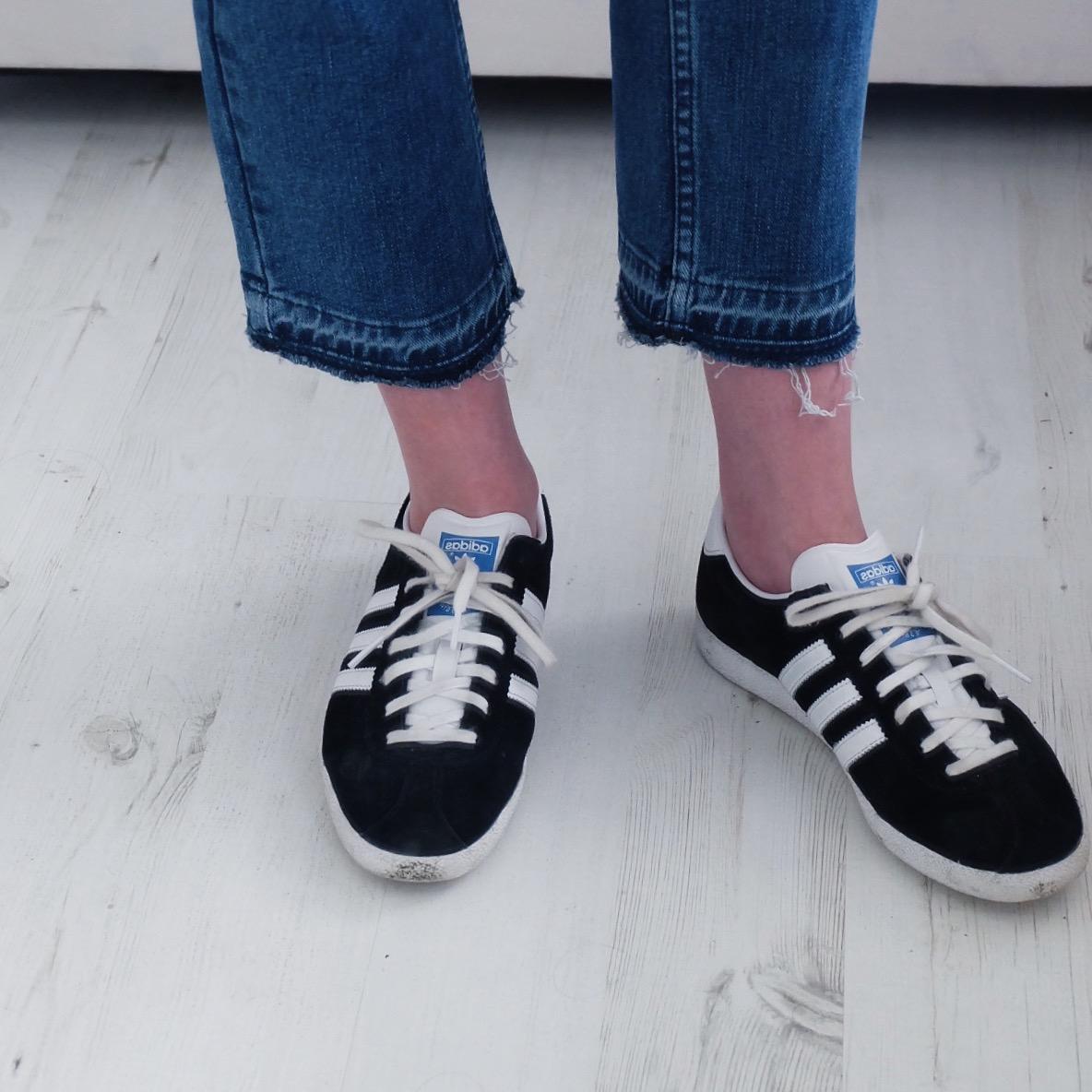 adidas gazelles, asos kimmi jeans review