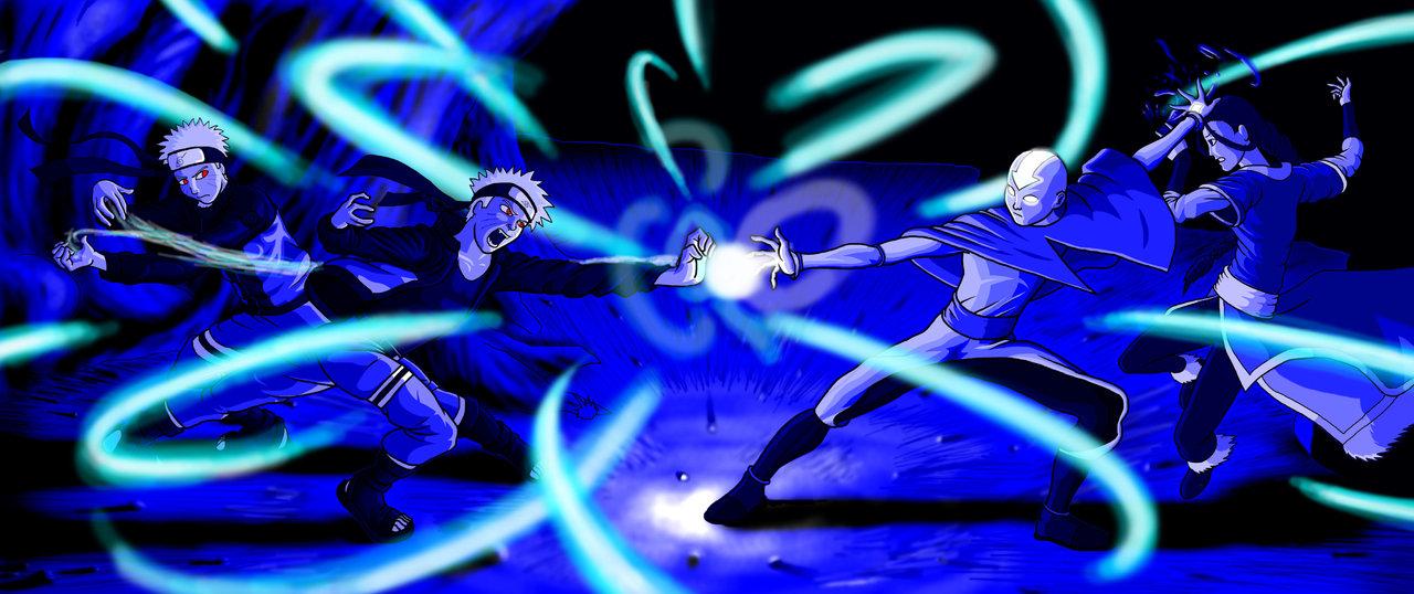 TEMPLO AVATAR: Aang vs Naruto  TEMPLO AVATAR: ...