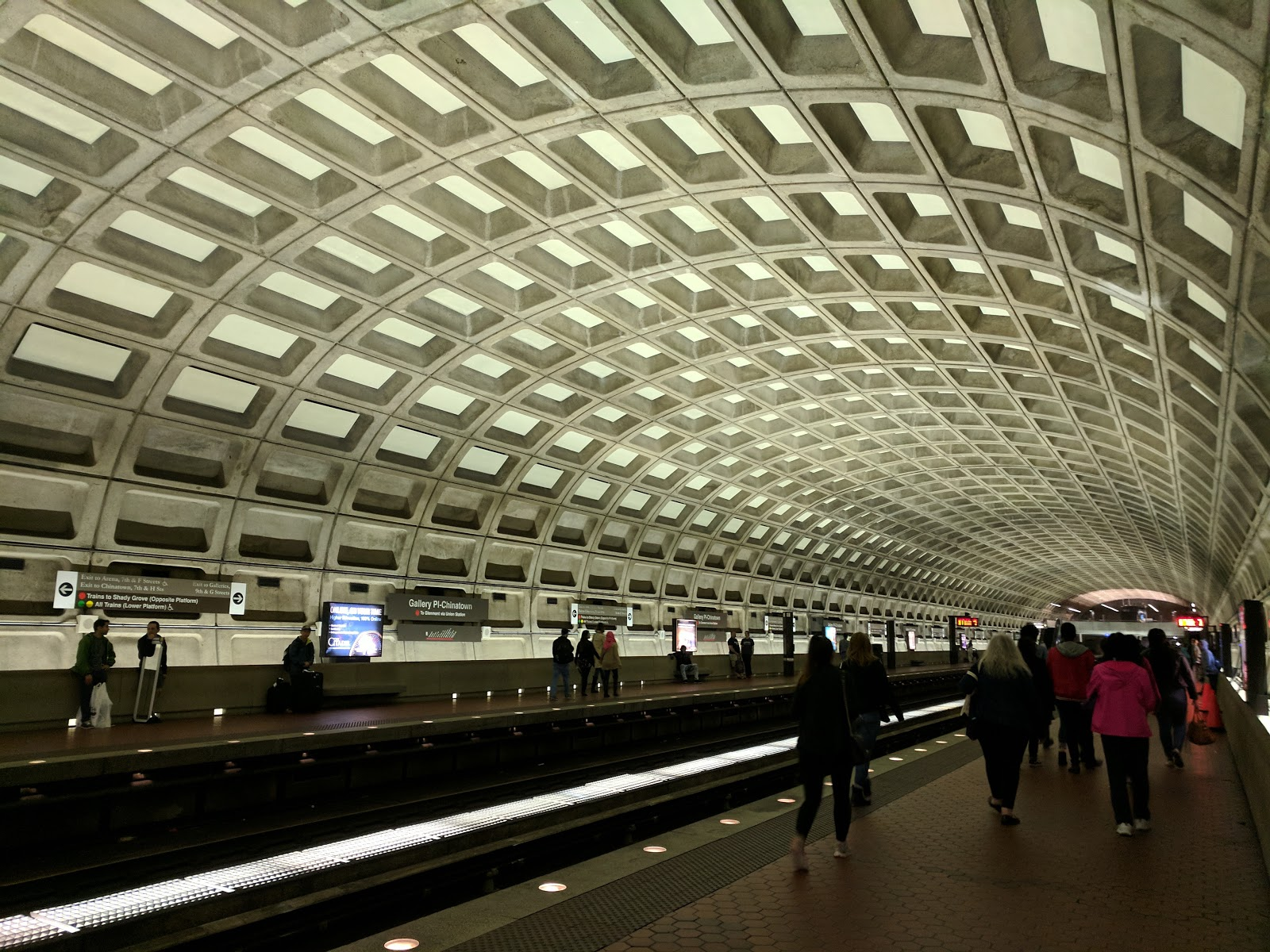 The DC Metro, winner of the AIA's 25-Year Award