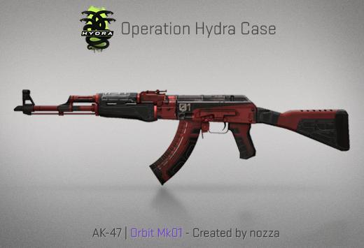 Operation Hydra Case - AK-47 | Orbit Mk01