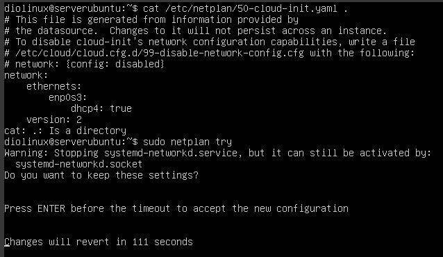 Configurando o Netplan no Ubuntu
