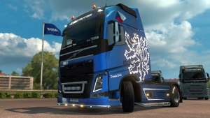 Czech Metallic skin for Volvo 2012
