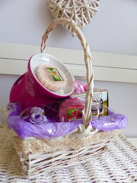 Beauty Basket of Yankee Candle!