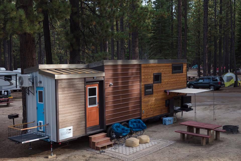 Tiny House Town Empty Nester From Kamtz Tiny House Company