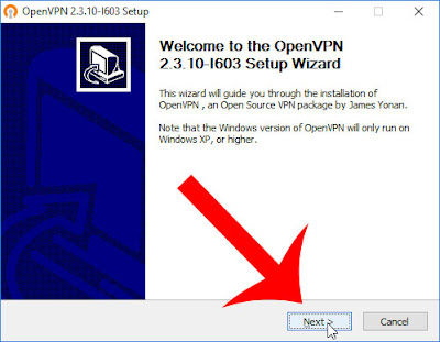 OpenVPN Setup Wizard