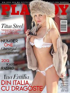 Revista Playboy Rumania-Diciembre 2015 Enero 2016 PDF Digital