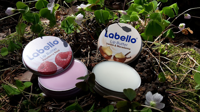 Konzistencia Labello Lip Butter Raspberry Rosé a Vanilla & Macadamia