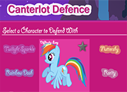 My Little Pony Canterlot Defence juego