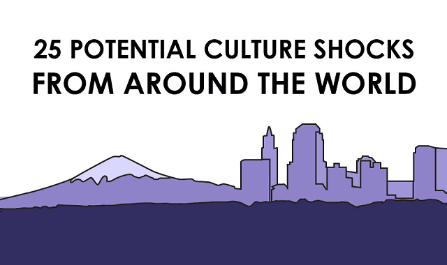 25 Culture Shocks From Around The World