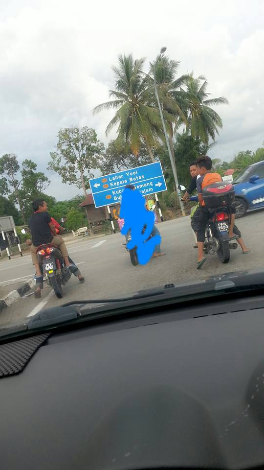 AKSI BIADAP BUDAK BAWAH UMUR  BILA DAPAT MOTORSIKAL...