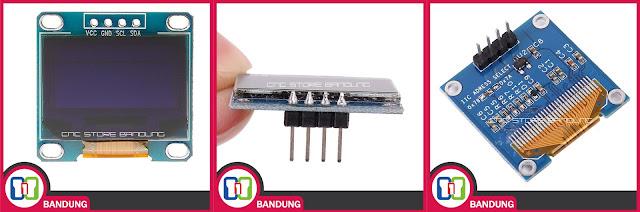 OLED 0.96 INCH I2C 128X64 DISPLAY cnc store bandung