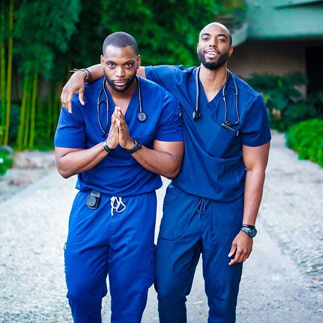 Checkout Cute Nigerian Twin Brothers Who Are Both Nurses ...