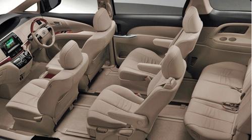 Toyota Tarago 2016 Design