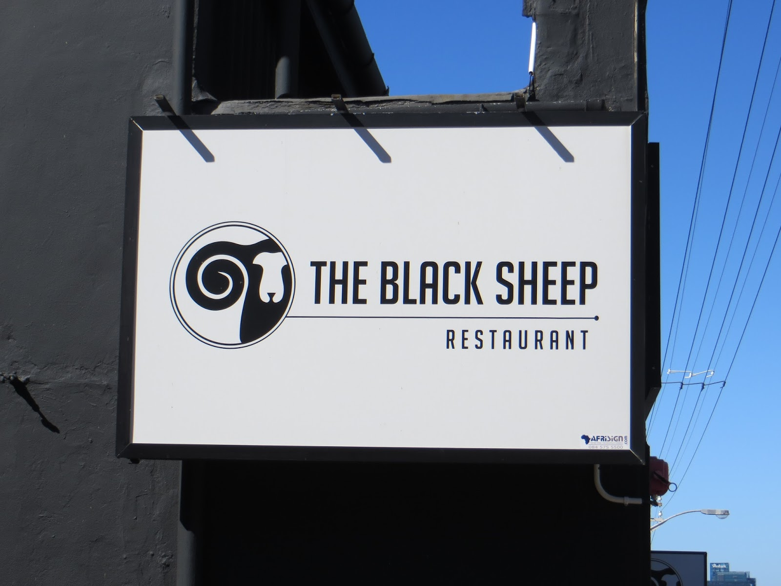 the black sheep of the town Black sheep is a great choice of a little local restaurant for a trendy but casual  sundowner drink or meal with friends in cape town.