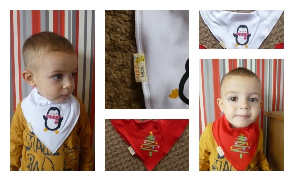 Yorkshire Blog, Mummy Blogging, Parent Blog, Funky Giraffe, Bib, Bandanna Bib, Review, Christmas, Christmas Feature,