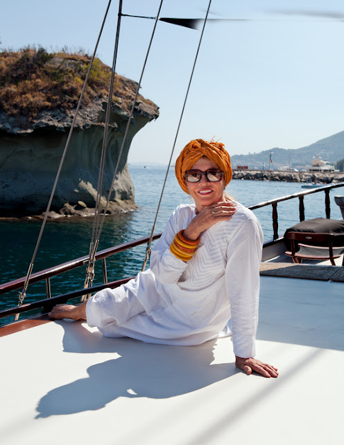 Destinations: Anouska Hempel's Capri and Amalfi Coast, Italy