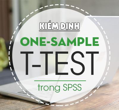 Kiểm định One-Sample T Test trong SPSS
