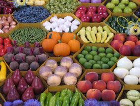 gambar beberapa jenis buah dan sayur segar