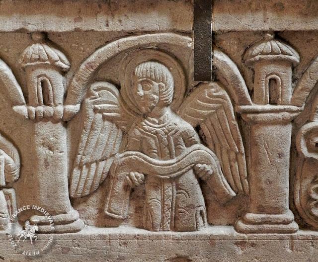 STRASBOURG (67) - Sarcophage d'Adeloch (1130)