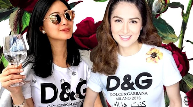 The Controversial D&G Shirt That Marian And Heart Argued Over Is Just A Sleepwear Of KC Concepcion!