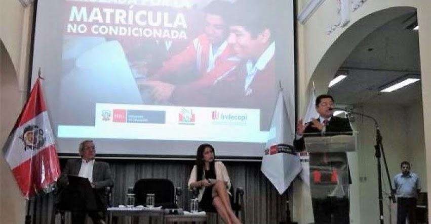 Defensoría del Pueblo supervisará el proceso de matrícula escolar en Piura