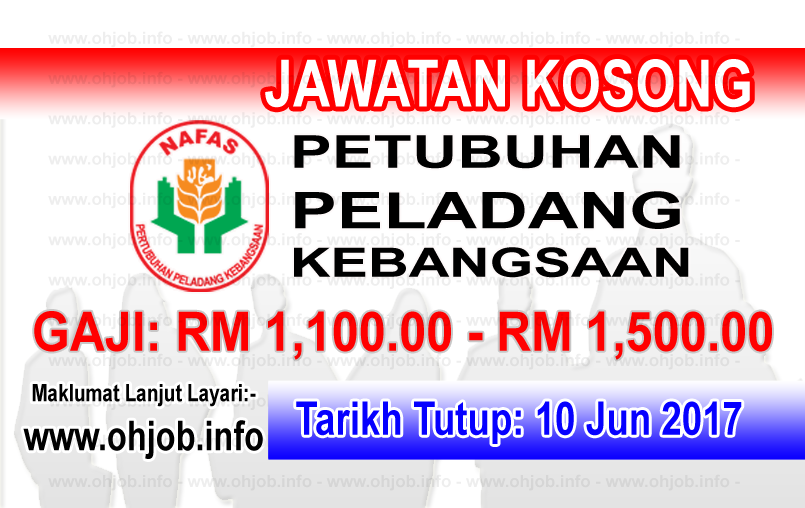 Jawatan Kerja Kosong NAFAS - Pertubuhan Peladang Kebangsaan logo www.ohjob.info jun 2017