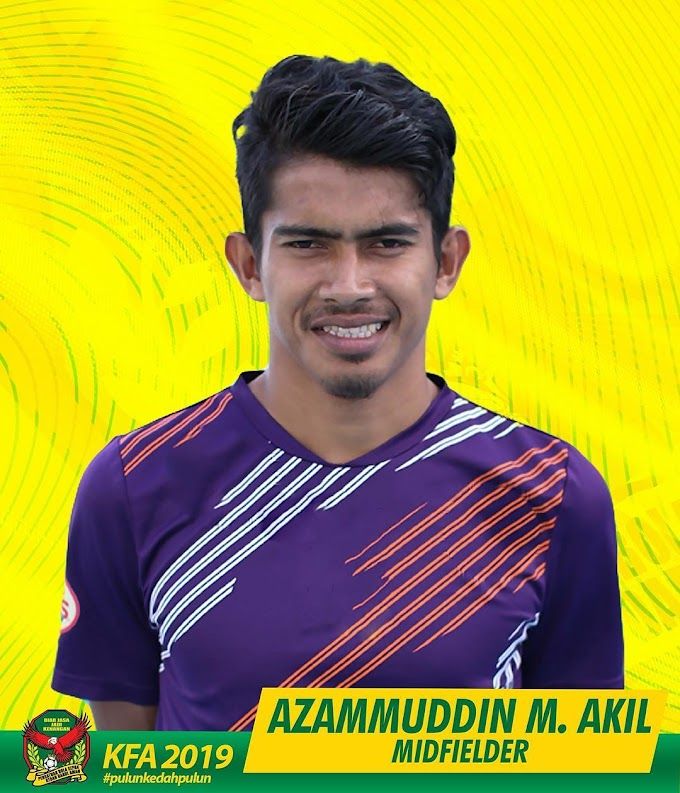 Azamuddin Akil lengkapkan perpindahan ke Kedah FA