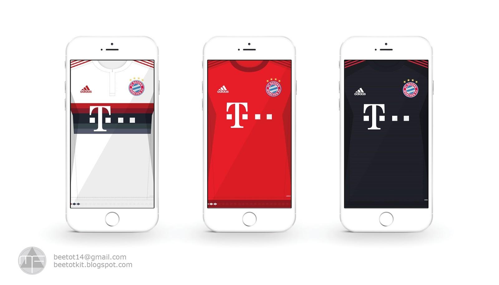 16 Luxury Pubg Wallpaper Iphone 6: Beetot Kit: Bayern Munchen Kit 15/16 Iphone 6 Wallpaper