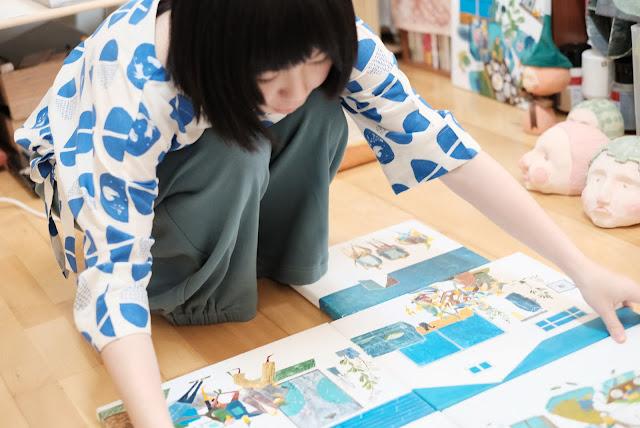 充滿玩心的KIDISLAND兒童島插畫家Yukito