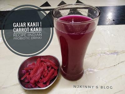 Njkinny's Blog: Gajar Kanji Recipe | Carrot Kanji Recipe | Traditional Punjabi Gajar Ki Kanji Recipe ~Indian Probiotic Drink