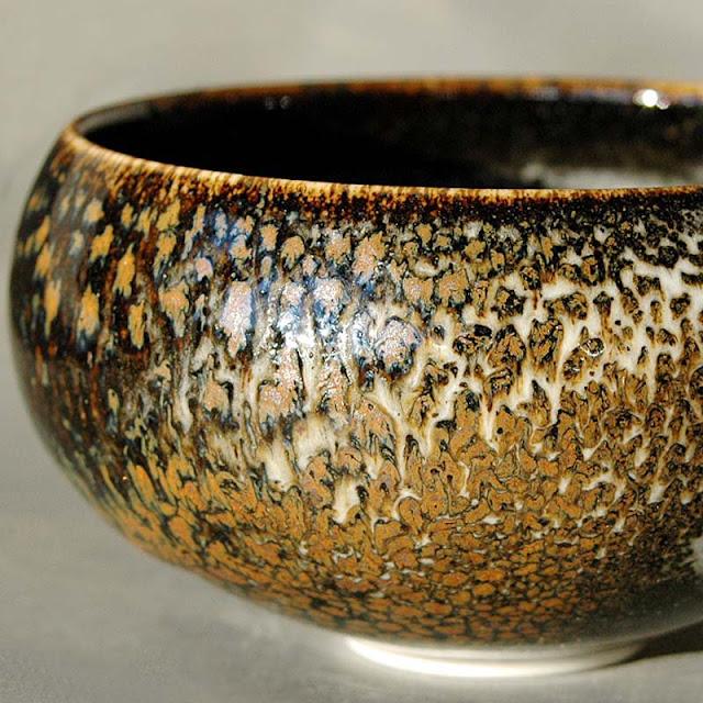 Bol céramique d'art, pièce unique faite à la main