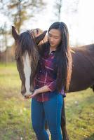 Chloe Go, Charity Joy, girl, farm, Jenny V Photography