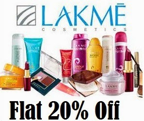 Lakme Beauty & Makeup Products: Flat 20% Off (No Minmum Purchase)