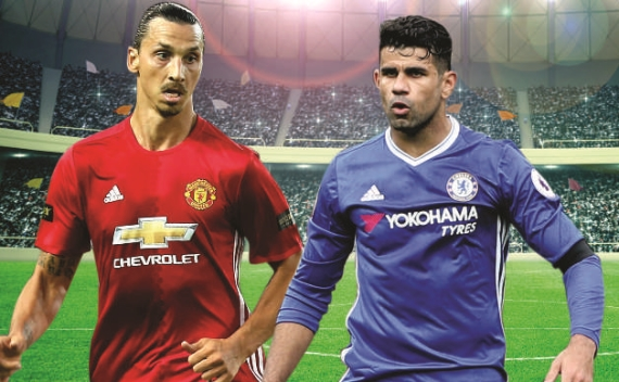 League-leaders Chelsea will be hoping to get closer to the title when they travel to face Man United.