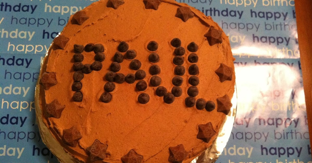 Fiona Cairns All In One Chocolate Cake For Sir Paul