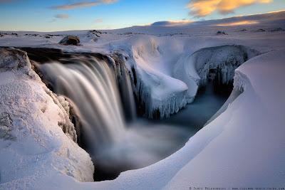 cascades du nord de l'Islande