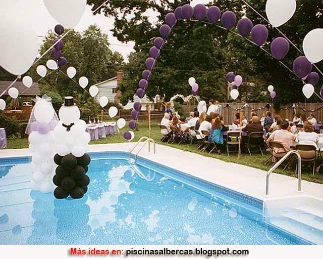Decoracion De Piscinas Para Bodas Piscinas Y Albercas Fotos De - Piscinas-decoracion