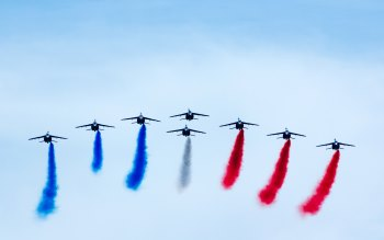 Wallpaper: Air Show in France