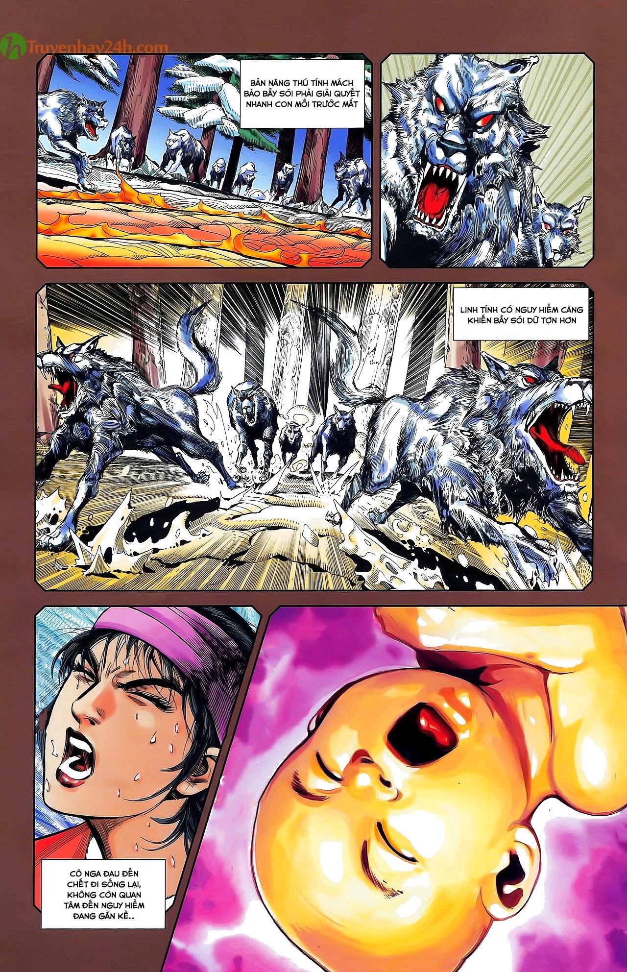Tần Vương Doanh Chính chapter 29.2 trang 15