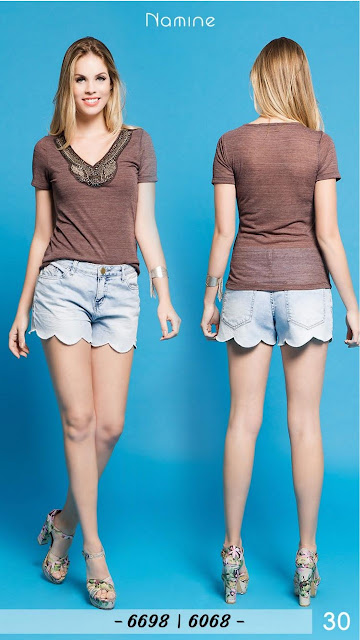 Shorts jeans para revender