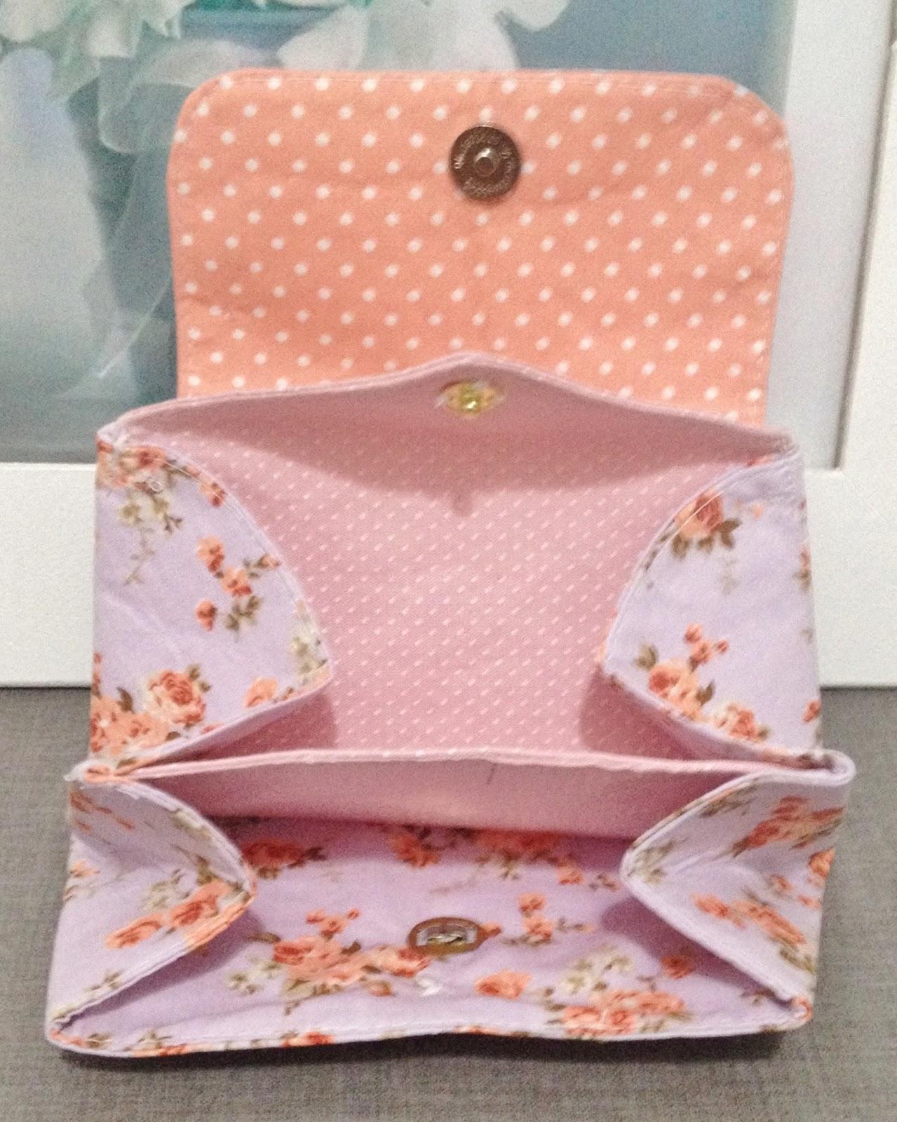 Bolsa De Tecido Forrada : Vivartesanato artesanato em tecido reciclando design e