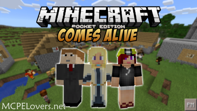 Download Minecraft Comes Alive PE Mod - MCPE Lovers
