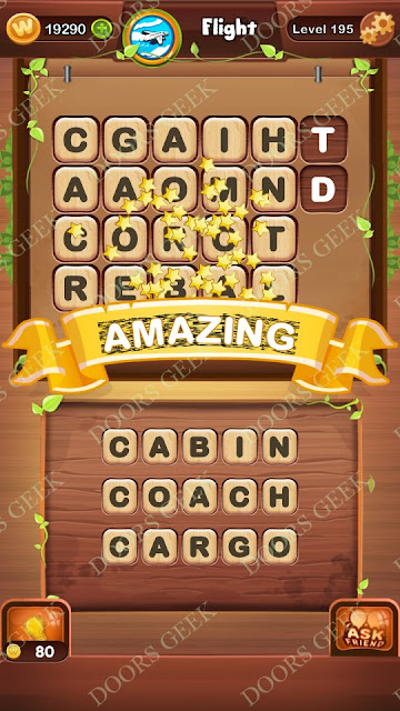 Word Bright Level 195 Answers, Cheats, Solutions, Walkthrough for android, iphone, ipad and ipod