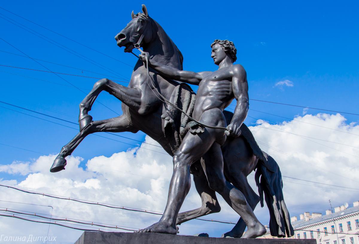 Мост с конями на Невском фото