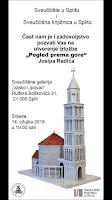 Izložba Pogled prema gore Josip Radić Split slike otok Brač Online