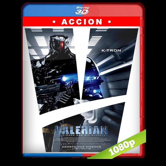 Valerian y la ciudad de los mil planetas (2017) 3D SBS 1080p Audio Dual Latino-Ingles